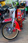 Honda classic motorcycle — Stock Photo