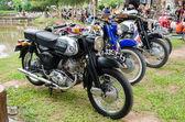 классический мотоцикл honda — Стоковое фото