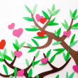 Stock Photo: Love tree, heart tree