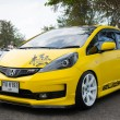 Stock Photo: Tuned car Hondjazz