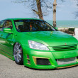 Постер, плакат: Tuned car Honda accord