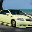 Stock Photo: Tuned car Toyotcamry