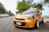 Tuned car nissan march  — Stock Photo