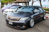 Tuned car Toyota Corolla Altis — Stock Photo