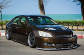 Tuned car Honda accord — Stock Photo