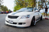 Tuned car Toyota camry — Stock Photo