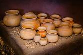 Pottery still life — Stock Photo