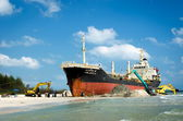 L'image de la salvage ship orapin 4 — Photo