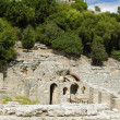 Albania, Butrint, Ruins of Ancient Amphiteatre — Stock Photo