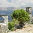 Stock Photo: Albania, Citadel of Gjirokaster, Clock Tower