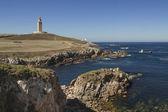 西班牙加利西亚、 拉科鲁尼亚、 海格力斯塔灯塔 — 图库照片