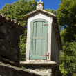 Spain, Galicia, Melide, horreo - traditional barn — Stock Photo