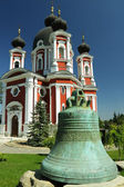 Republic of Moldova, Curchi Monastery, Ancient Bell — Stock Photo