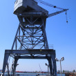 Stock Photo: Port crane