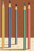 Pencils — Vecteur