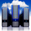 Stock Photo: Cloud server