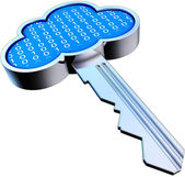 Cloud key — Stock Photo