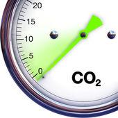 Co2 排出量を削減します。 — ストック写真