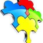 Color puzzle — Stock Photo #27923423