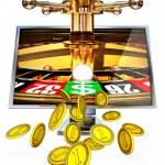 Online gambling — Stock Photo #28075041