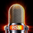 Stock Photo: Rss microphone