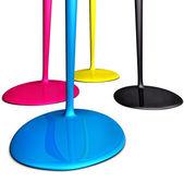 Color drops — Stock Photo