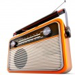 Portable radio — Stock Photo