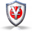 Protected YEN — Stock Photo