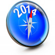 Compass 2014 — Stock Photo