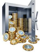 Bank vault — Stock Photo