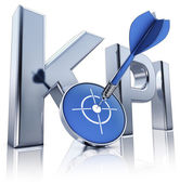 KPI icon — Stock Photo