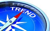 Trend — Stock Photo