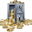 Bank vault — Stock Photo