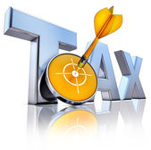 TAX icon — Stock Photo