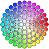 Color circle — Stock Photo