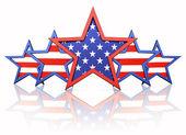 American stars — Stock Photo