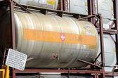 Storage tank for transportation — Stock Photo
