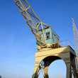 Stock Photo: Old crane