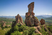 Beautiful Rock Formation Fortress Nature Background — Stock Photo