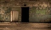 Altes krankenhaus verlassen verfall erschreckend schaden ruine konzept — Stockfoto