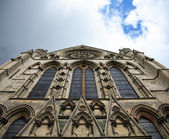 Windows of York Minster — Stock Photo