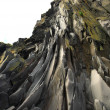 Stock Photo: Basalt rock face