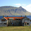 Derelict building Iceland — Stock Photo