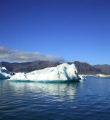 Iceberg, Jokulsarlon lagoon — Stock Photo