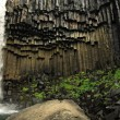 Stock Photo: Svartifoss waterfall and basalt columns