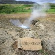 Stock Photo: Litli Geysir