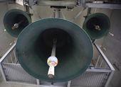 The bells of Hallgrimskirkja — Stock Photo