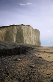 Cliffs on the East Coast of England — Stock Photo