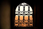 Decorative window — Stock Photo