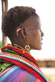 Samburu woman — Stock Photo